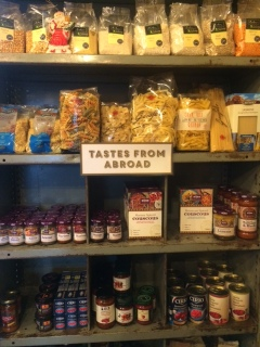 Cold Bath deli delicious foods - contributing to Harrogate's wellness in healthy lifestyle choices: Tastes from abroad.