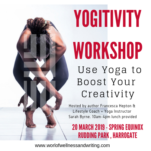 Exclusive yoga workshop to increase your creativity. Powerful words shall flow after these vinyasas!!