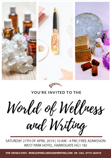 World of Wellness and Writing is in Harrogate