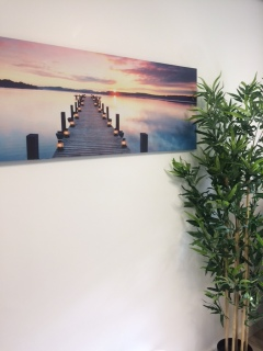 A calm setting at the Harrogate Ladies College Wellness Centre