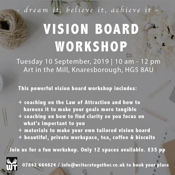 Vision Board Workshop Knaresborough